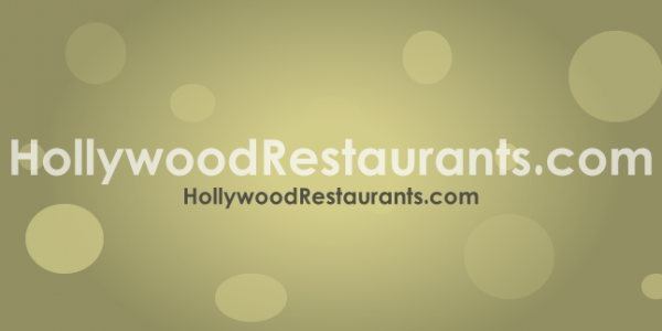 HollywoodRestaurants.com