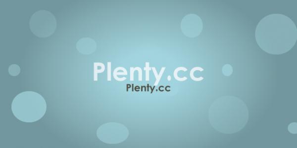Plenty.cc