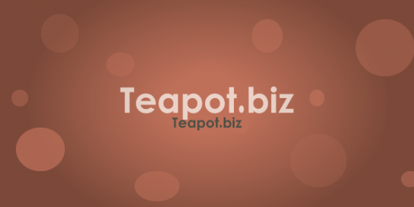 Teapot.biz