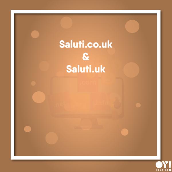 Saluti.co.uk and Saluti.uk