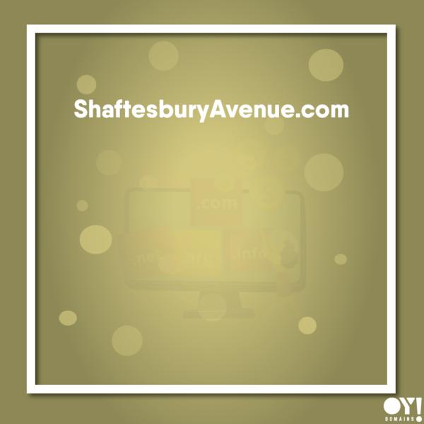 ShaftesburyAvenue.com