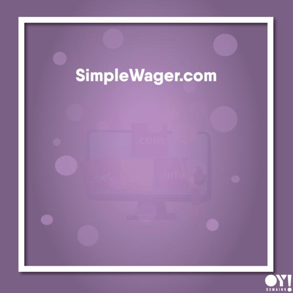 SimpleWager.com